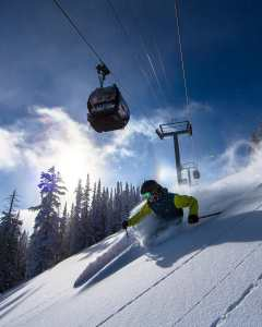 Aspen, just one of the many iconic resorts on the Mountain Collective pass.