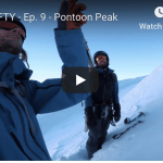 The Fifty – Pontoon, Chugach Range, Alaska. Episode 9 of Cody Townsend's Quest To Ski the 50 Classic Ski Descents of North America