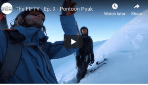 The Fifty - Pontoon, Chugach Range, Alaska. Episode 9 of Cody Townsend's Quest To Ski the 50 Classic Ski Descents of North America
