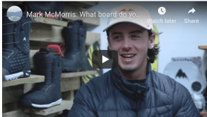 Gear Guide – Mark McMorris on Why the Burton Process is His Favourite Board.
