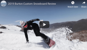 Gear Guide – Burton Custom Snowboard, Video Review