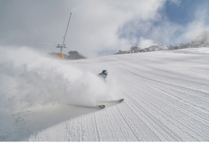 After A Mild May, Snow Is On Its Way, the Grasshopper calling 30-50cms Next Week