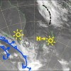Another day of sweet sunshine as that plump high moves onto the country. Source: NZ Metservice (vandalised by the Grasshopper)