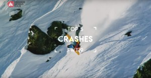 Top 5 Crashes From The Freeride World Tour 2019 - Video