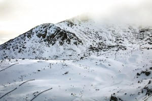 The Remarkables this morning, July 3.