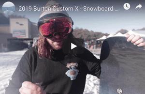 Gear Guide - Burton Custom X Snowboard Video review