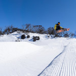 The Australian Junior Freeride Championships, saw Australia's best young riders compete last weekend. Photo: Perisher
