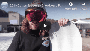 Gear Guide – Burton Process Snowboard Video Review