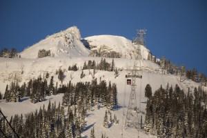 Jackson Hole's iconic red tram is now powered by wind. Photo: Tony Harrington