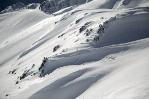 The Backcountry is calling - it is a different world out there. Photo: Teddy Haycock