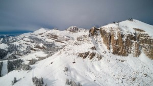 Jackson Hole - Impressive Preseason Snowfall - Photo Journal