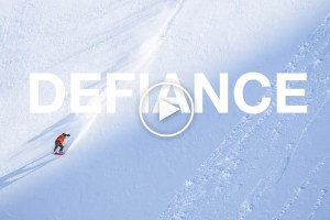 The North Face Presents: Defiance, A Must-Watch Snowboard Film Featuring Victor De Le Rue, Leanne Pelosi and Jake Blauvelt