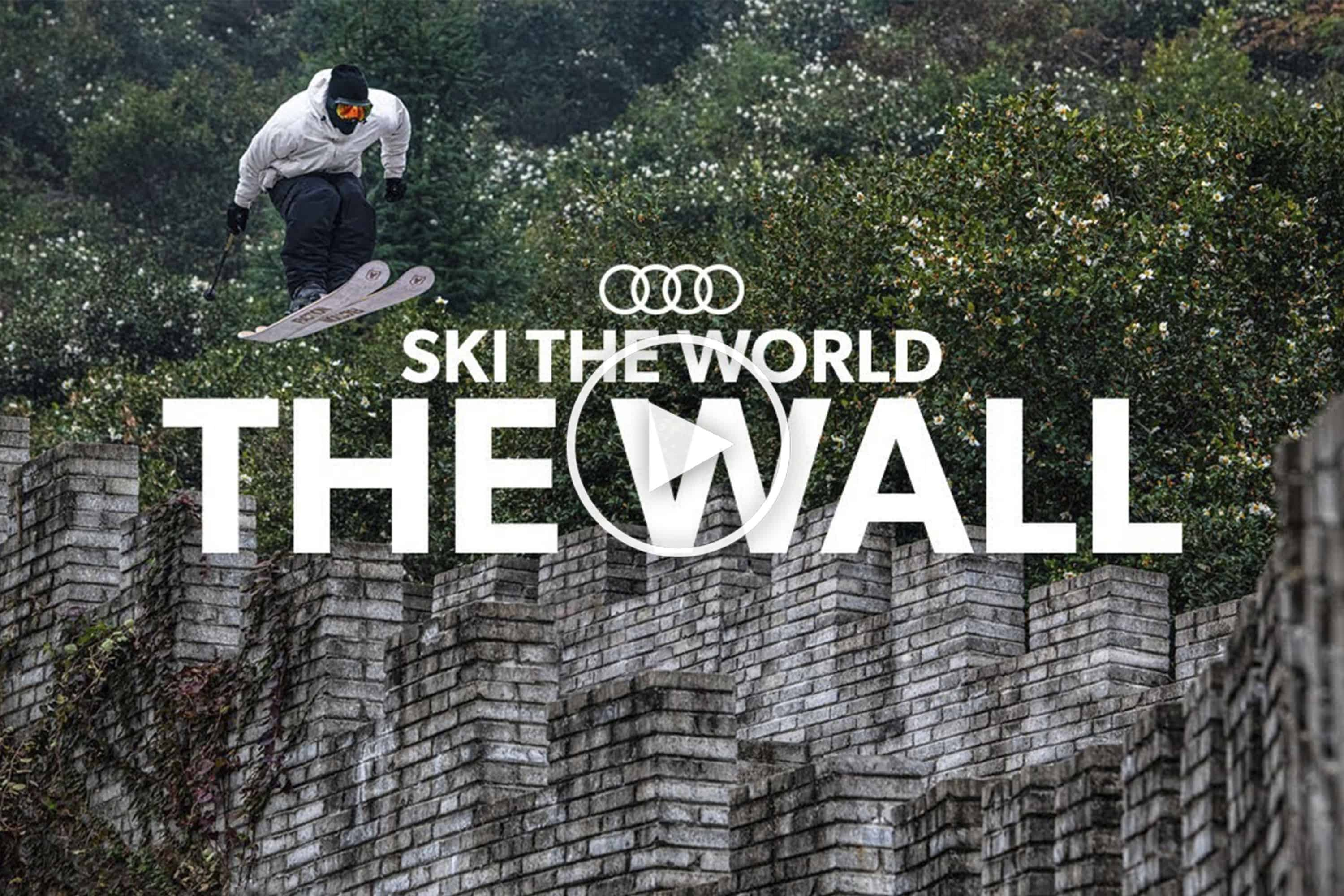 Candide Thovex Ski The World - Behind the Scenes, The Great Wall of China