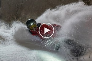 Night Riding Deep Powder in Niseko – Video