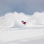 Piotrek Drzastwa on an awesome day in the Niseko back bowls last January. Photo: Matt Wiseman/Niseko Photography