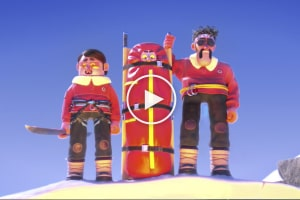 Hors Piste – A Very Funny Animated Short Film of a Ski Rescue Mission That Does Not Go To Plan