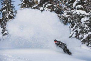After day of powder turns in Mammoth on Christmas Eve after a nice top up. Photo: Pete Morning