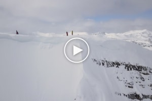 All White – Sensational New Edit From Australian Freeskier Coen Bennie-Faull