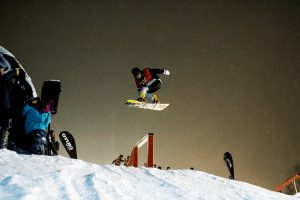 Rhythm rail jam in Niseko this Saturday
