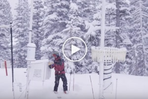 Avalanche Control and Skiing Powder - A Day In The Life Of Alta Ski Patrol - Video