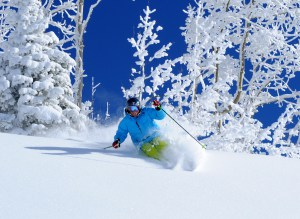 Steamboat Springs, Colorado is one of the many resorts accessed by the IkonPass. Photo: Steamboat