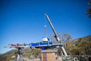 Lift Towers Installed - Thredbo's New Gondola on Track For Opening Ahead of 2020 Snow Season