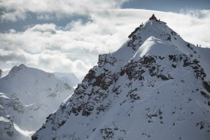 The infamous Bec Des Rosses in Verbier, the venue for the now cancelled final Freeride World Tour event. Photo: Daher/FWT