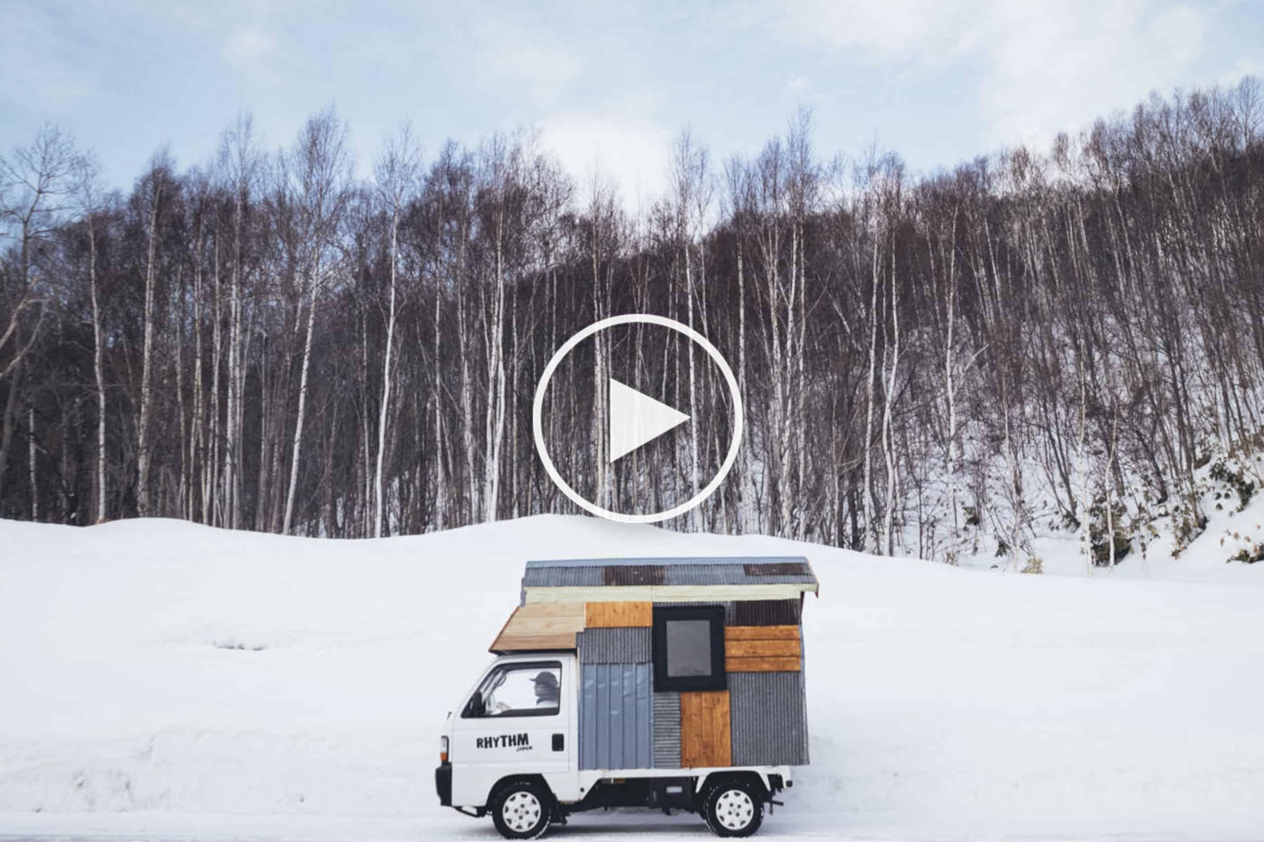 Video - Wasi Sabi, A Snowboarding Odyssey Through Hokkaido's Interior