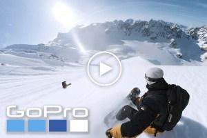 Behind Dark Matter - Incredible GoPro Footage of Travis Rice and Elias Elhardt in Alaska