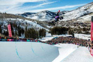 Scotty James airs and grabs at the Burton US Open in Vail, Colorado, USA on 29 February, 2020. // Daniel Milchev / Red Bull Content Pool // AP-238Y9K7R11W11 // Usage for editorial use only //