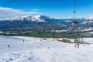 Coronet Peak, one of the southern hemisphere resorts on the Ikon Pass. Photo: NZski