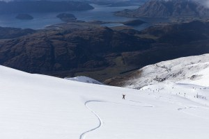 Could we see a situation where Australians can ski in Treble Cone, but not Perisher? Photo: Mark Clinton