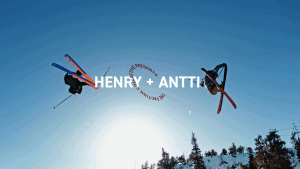 Young Henry Sildaru Chasing Antti Ollila - This 13-Year-Old Rips. Video.
