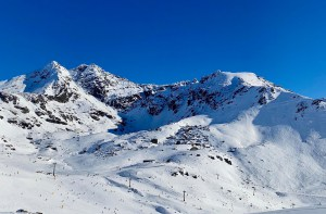 A sunny day in the Remarkable yesterday but the fine weather is about to end with snow in the forecast this week. Photo: NZSki
