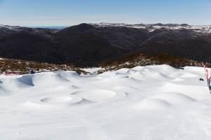 Th eHoly Bowly set-up  in Thredbo's Anton Park last September. Photo: Thredbo