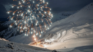 Mt Hutt broke out the fireworks on the weekend and  the celebrations will continue this week with snow the forecast, Photo: NZSki