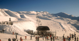 Cardrona looking good in yesterday's sunshine. The fine weather will end tomorrow.