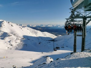 A perfect sunny day in the Remarkables yesterday. Photo: Tilly Smith