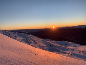 Cardrona yesterday and the run f fine weather wil continue area doc snow next week