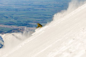 Mt Hutt was prime yesterday after a nice top up and there's more snow on the way. Photo: NZSki