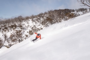 Perisher after the storm o Monday. It has been a good week for those lucky enough to be in the NSW resorts with blues skies, col;d temps and great snow. Photo: Perisher