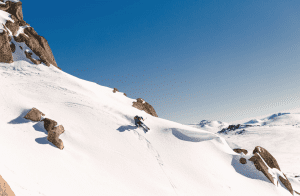 Cody Townsend in the Kosi backcountry last winter. Photo: Thredbo