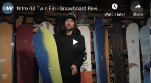 Gear Guide - Nitro Fin Twin Snowboard, Video Review