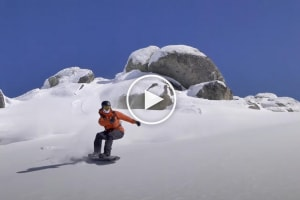 Backcountry Awareness – Checking  For Instability In The Snowpack. Video