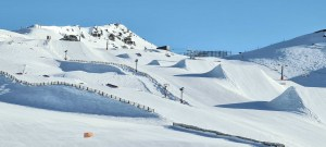 A perfect spring day in Cardrona  yesterday, but another storm is not hew