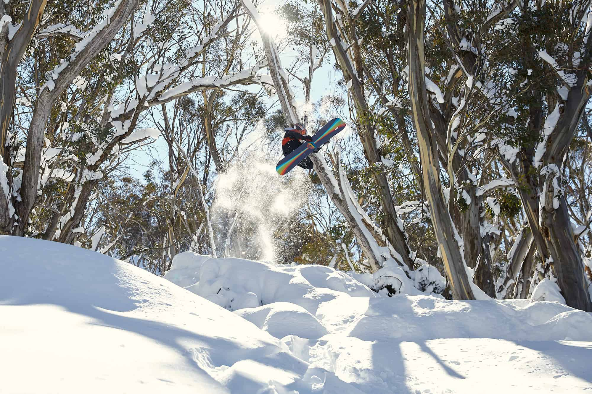Shovels And A Packed Lunch - Young Guns Hit Thredbo Like It's A Natural Terrain Park