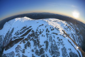 Aerial shot of Buller in all its glory