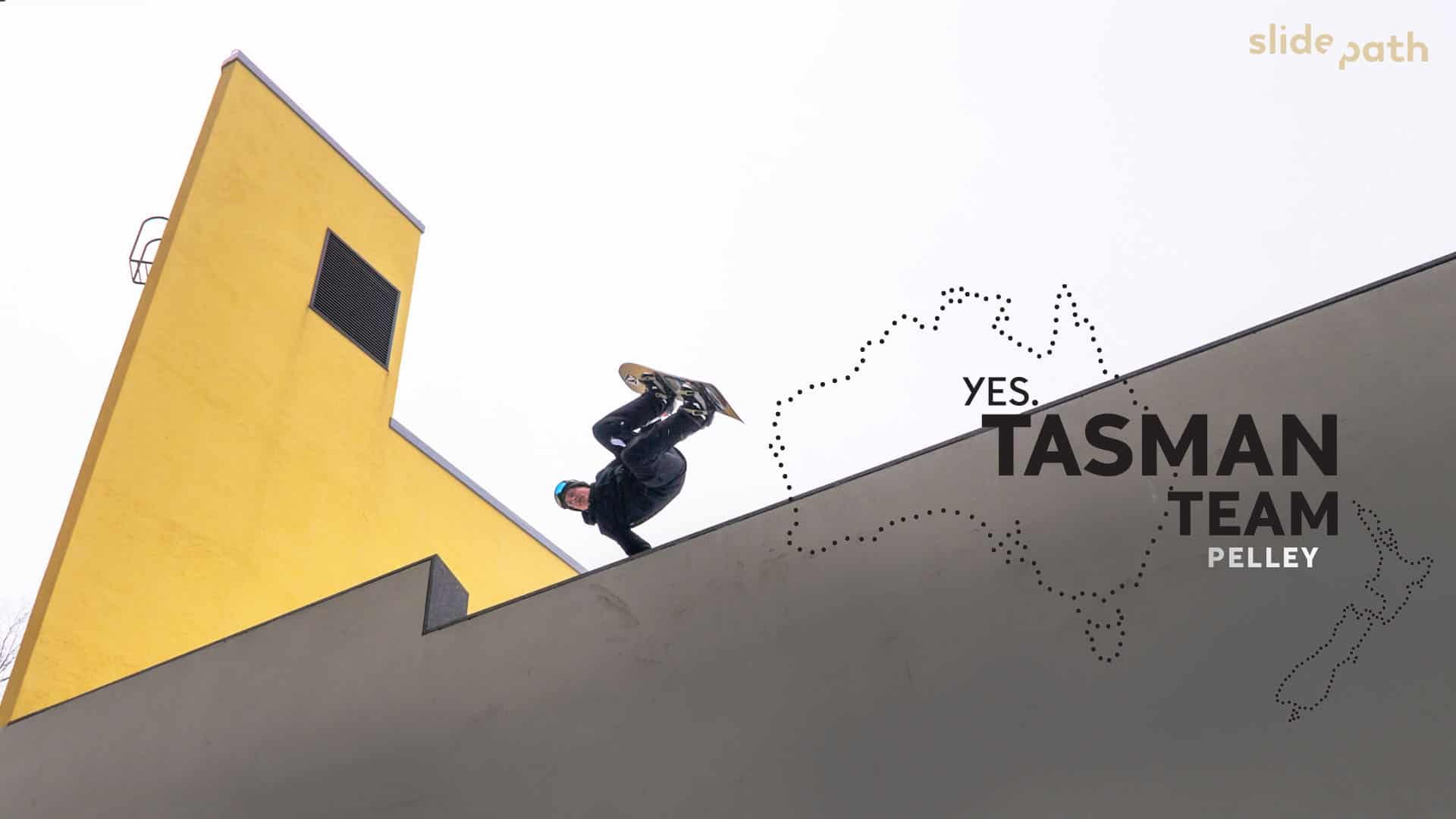 Tasman Team - Tom Pelley - Episode 2 of New Web Series From YES Snowboards