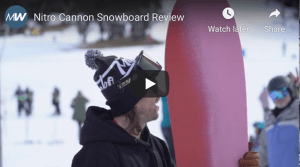 Gear Guide - Nitro Cannon 203, Snowboard Video Review