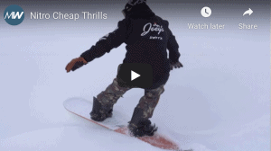 Gear Guide - Nitro Cheap Thrills, Snowboard Video Review